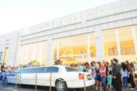 פתיחת חנות חדשה קידום מכירות לימוזינה